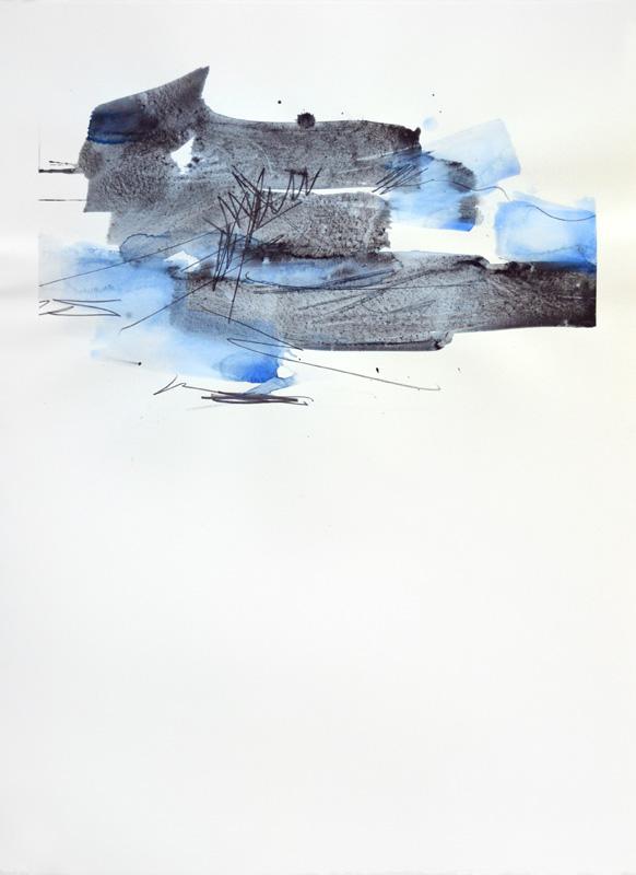"""Realization, 30""""x22"""", watercolor, graphite on 140# Fabriano Artistico, 30""""x22"""", watercolor, graphite on 140# Fabriano Artistico"""