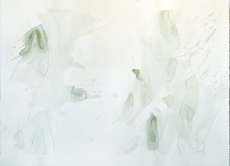 """Waterloo, 22""""x30"""", watercolor, graphite on 140# Fabriano Artistico."""