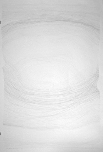 What I Always Wanted, 44x30in., pencil on 90# white Stonehenge, 2009